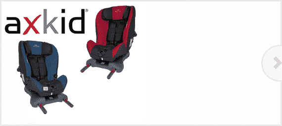 Axkid achterwaartse autostoeltjes bij Babyplezier