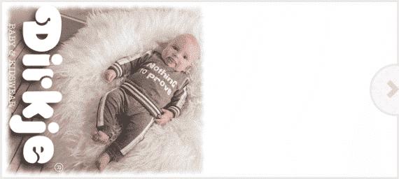 Dirkje babykleding wintercollectie 2016